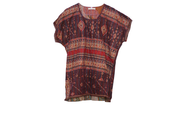 Ferns reversible t-shirt - Celeste Twikler