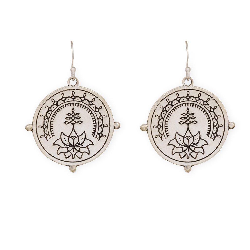 Purity earrings - sterling silver - Celeste Twikler