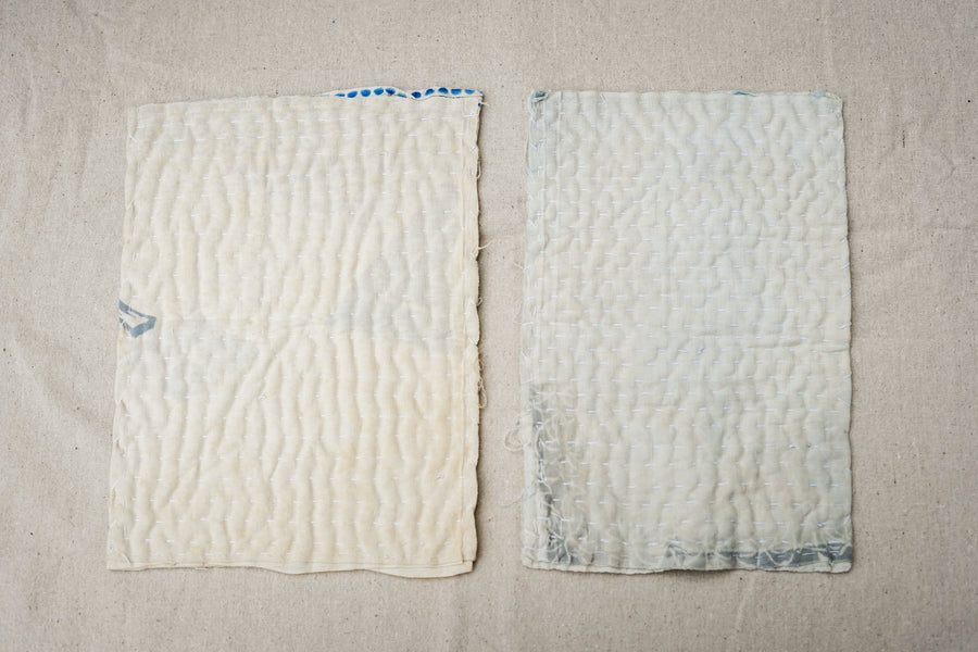 zokin dust cloths, pair, white
