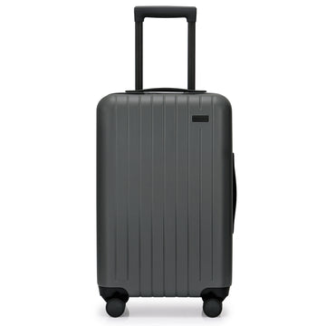GoPenguin carry on luggage skyline grey