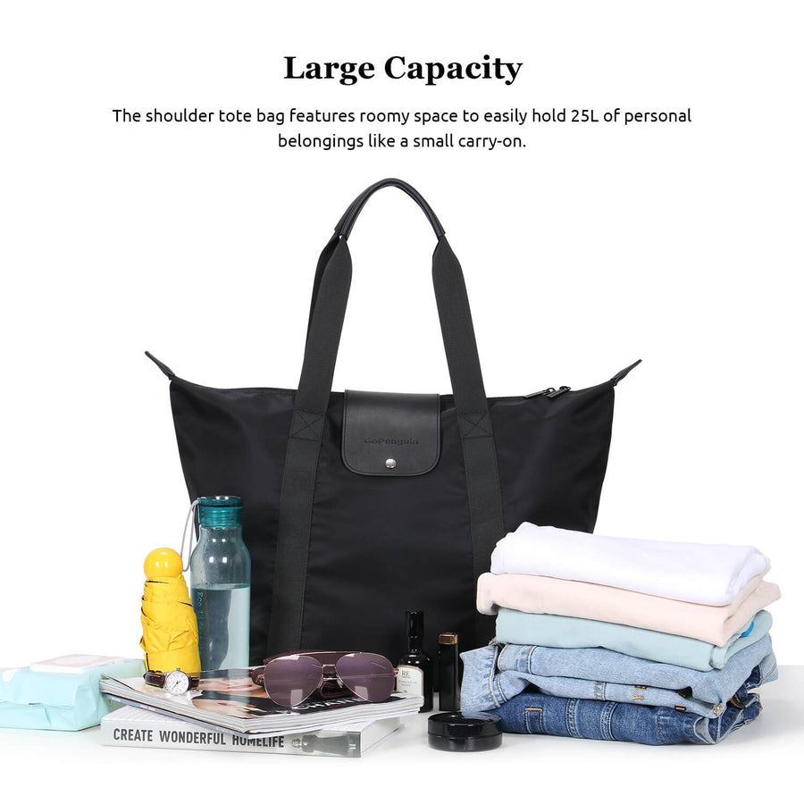Foldable Travel Tote Bag Large Capacity