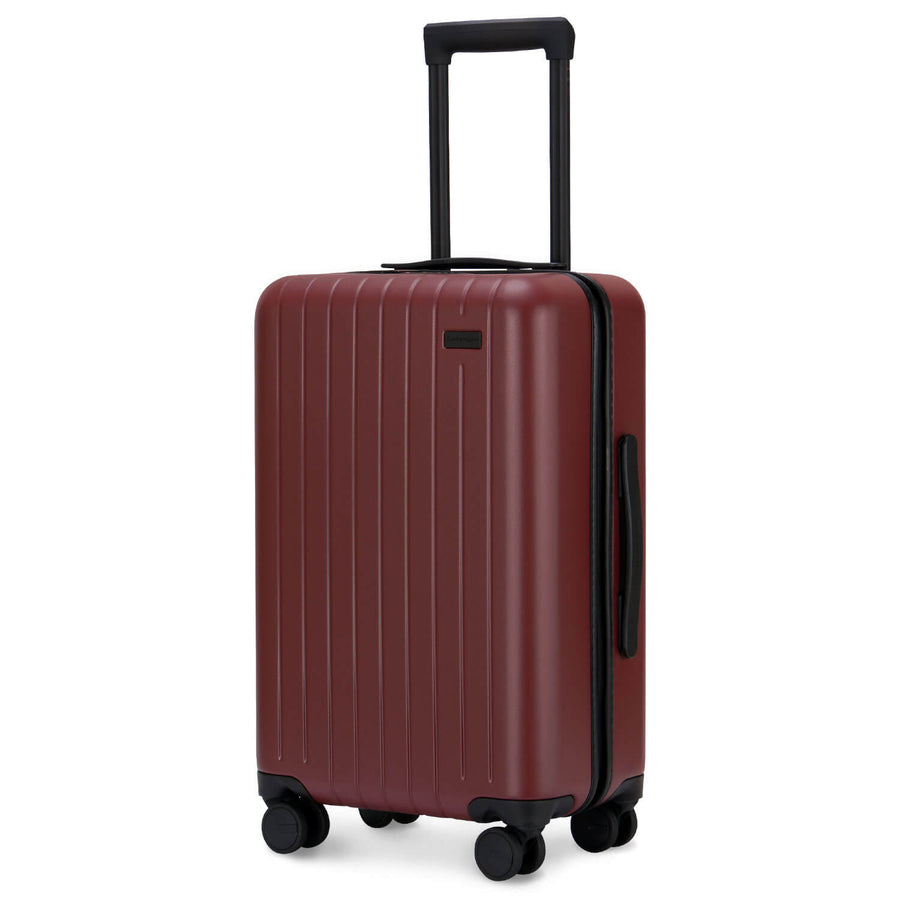 GoPenguin carry on luggage fiery red
