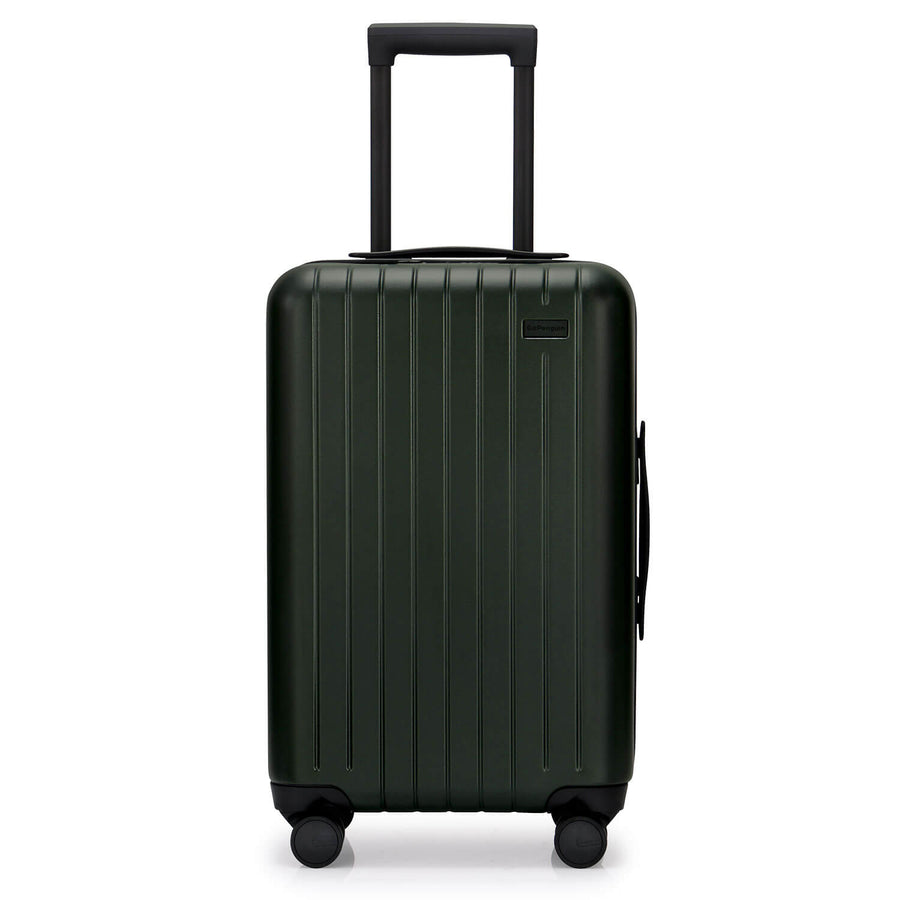GoPenguin carry on luggage forest green