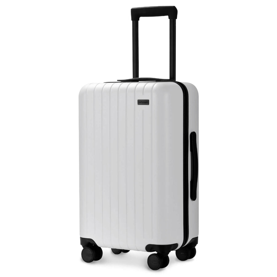 GoPenguin carry on luggage polar white