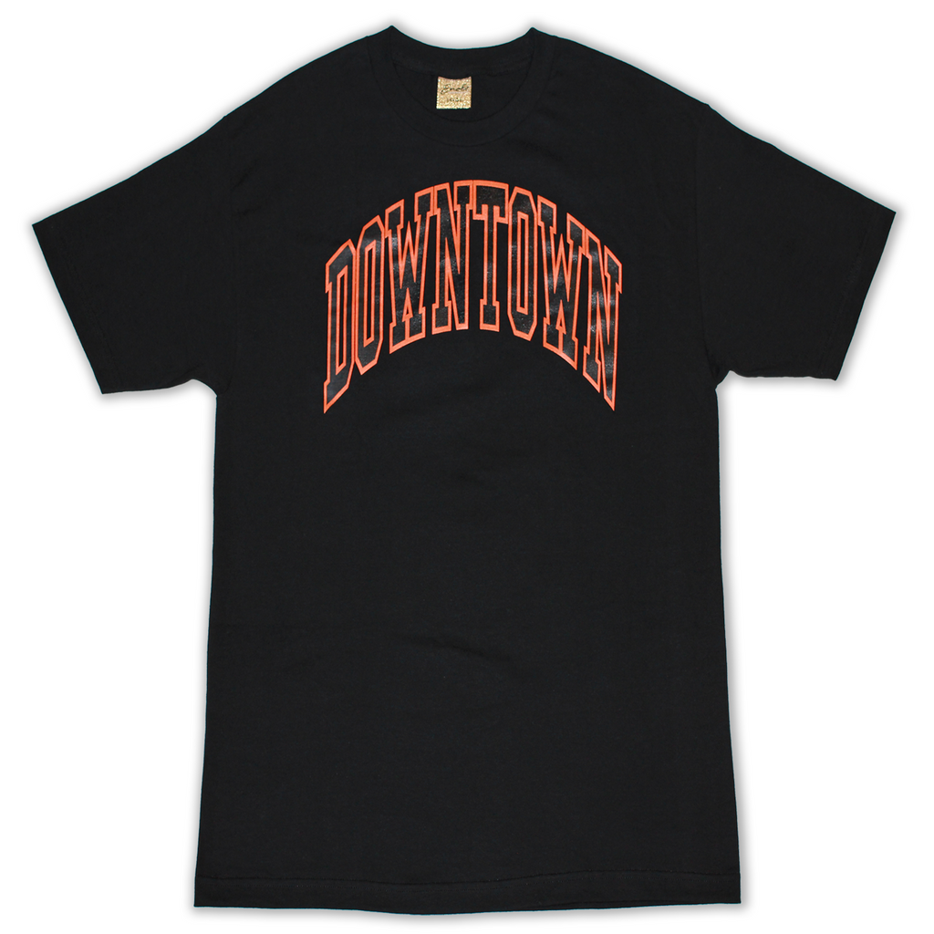 SNOBS DOWNTOWN TEE (BLACK)