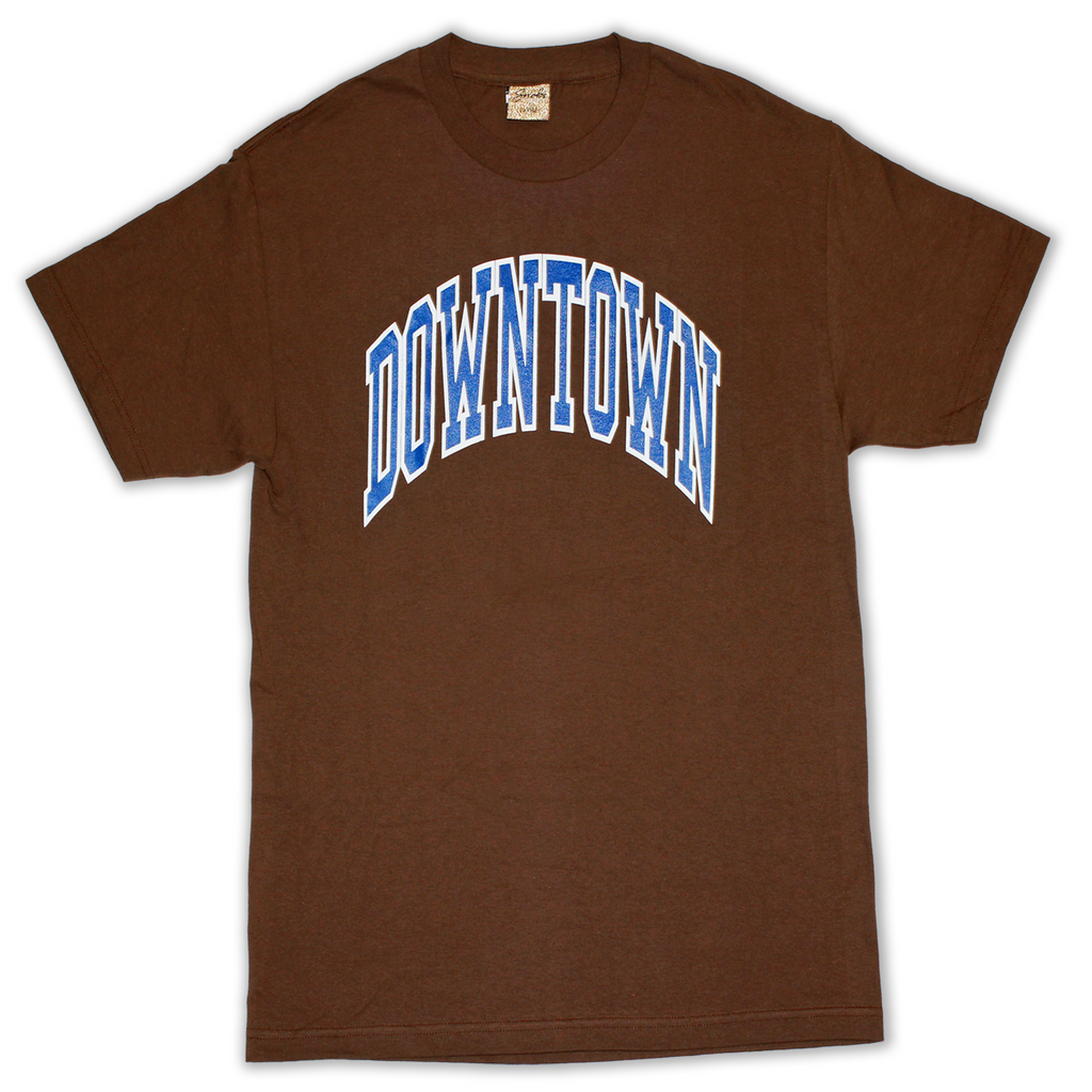 SNOBS DOWNTOWN TEE (BROWN)