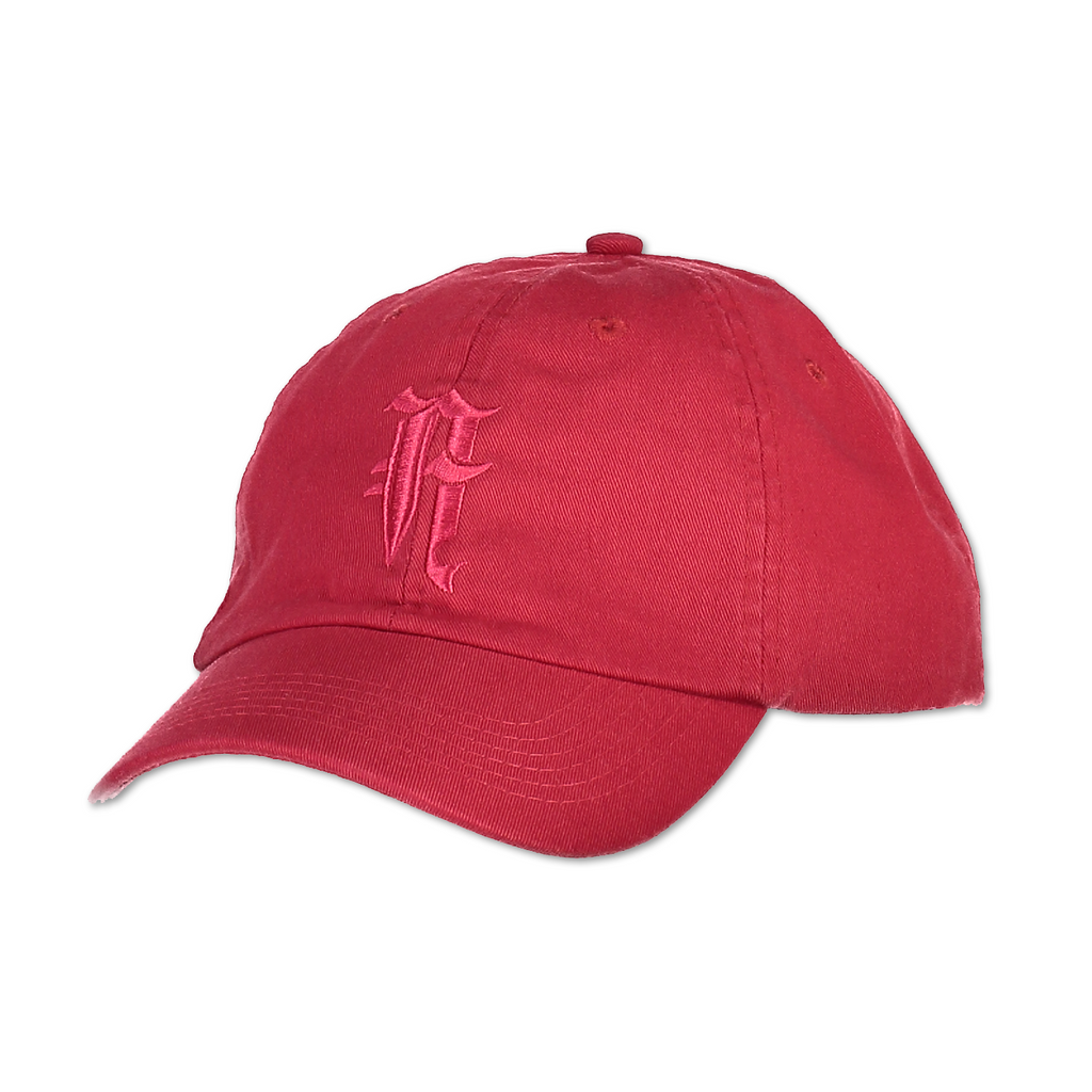 """A"" LOGO HAT (RED)"