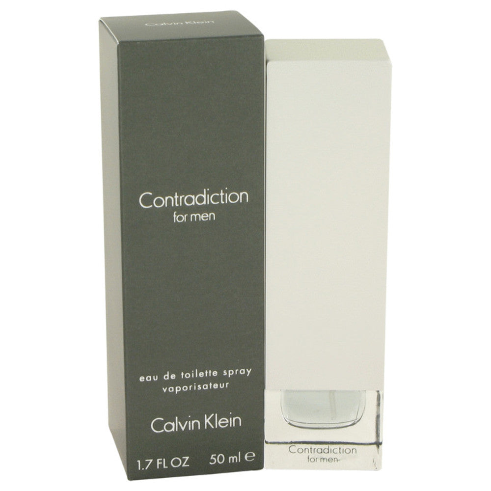 Contradiction By Calvin Klein Eau De Toilette Spray 1.7 Oz For Men