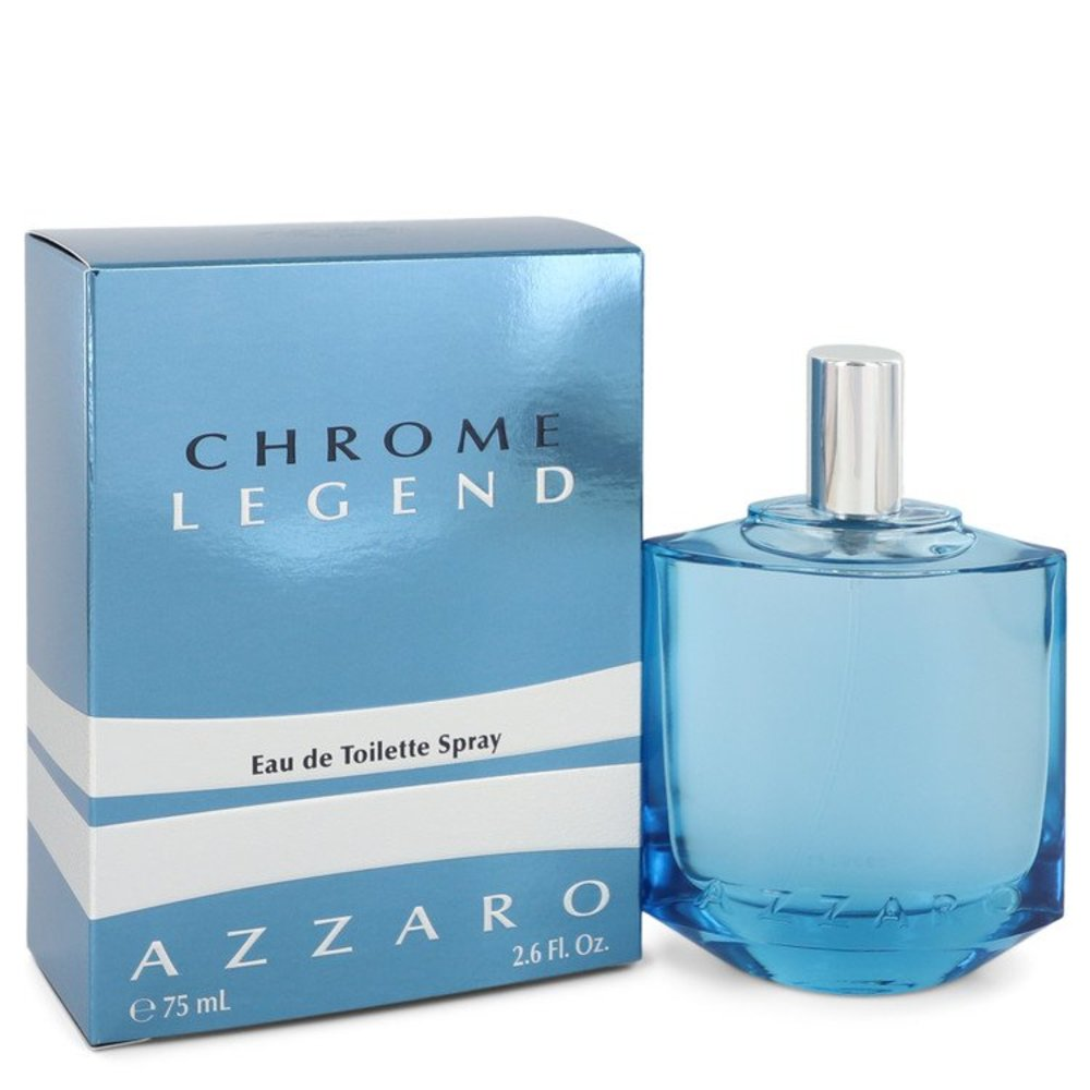 Chrome Legend By Azzaro Eau De Toilette Spray 2.6 Oz For Men