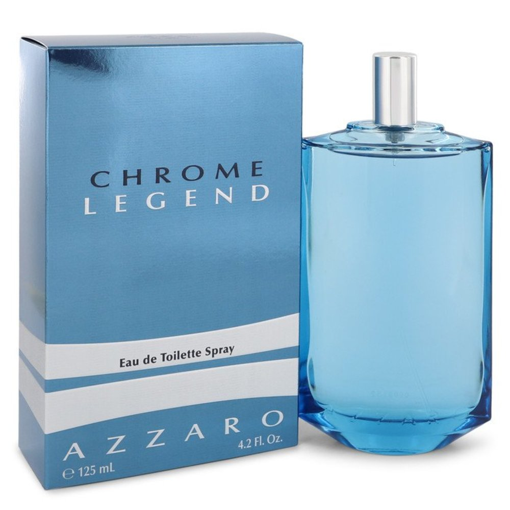 Chrome Legend By Azzaro Eau De Toilette Spray 4.2 Oz For Men