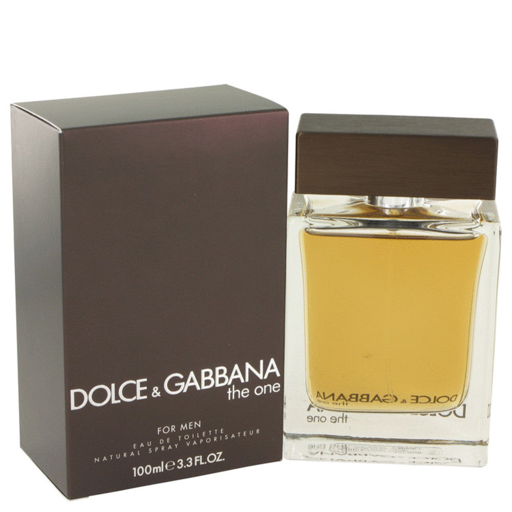The One By Dolce and Gabbana Eau De Toilette Spray 3.4 Oz For Men