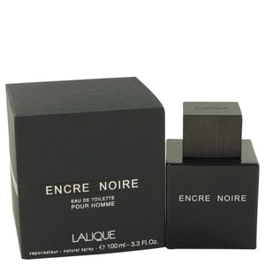 Encre Noire By Lalique Eau De Toilette Spray 3.4 Oz For Men