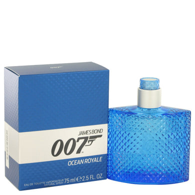 007 Ocean Royale By James Bond Eau De Toilette Spray 2.5 Oz For Men