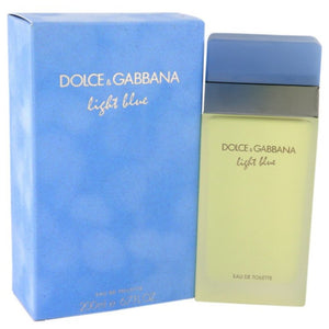 Light Blue By Dolce and Gabbana Eau De Toilette Spray 6.7 Oz For Women
