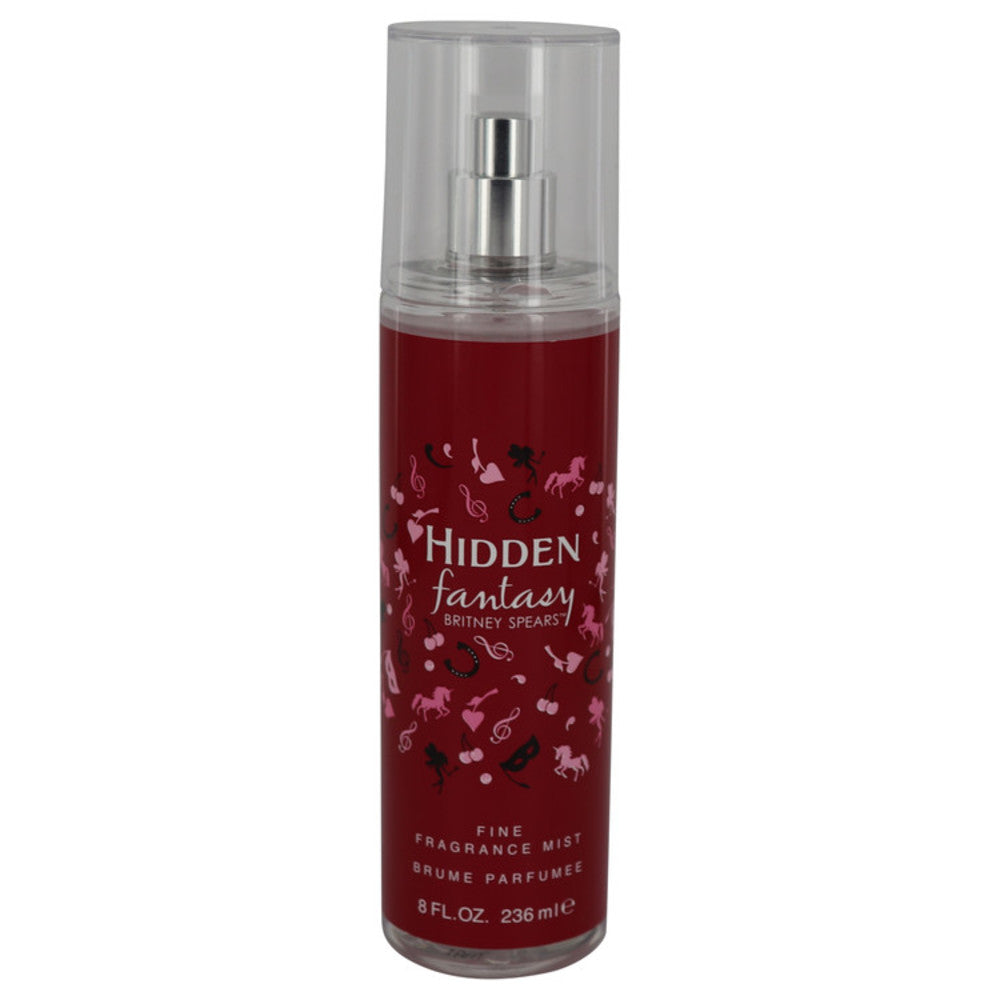 Hidden Fantasy By Britney Spears Fragrance Mist 8 Oz For Women