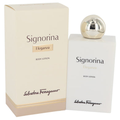 Signorina Eleganza By Salvatore Ferragamo Body Lotion 6.7 Oz For Women