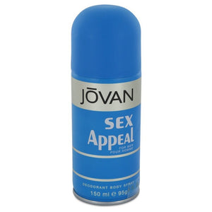 Sex Appeal By Jovan Deodorant Spray 5 Oz For Men