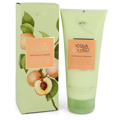 4711 Acqua Colonia White Peach and Coriander By 4711 Body Lotion 6.8 Oz For Women