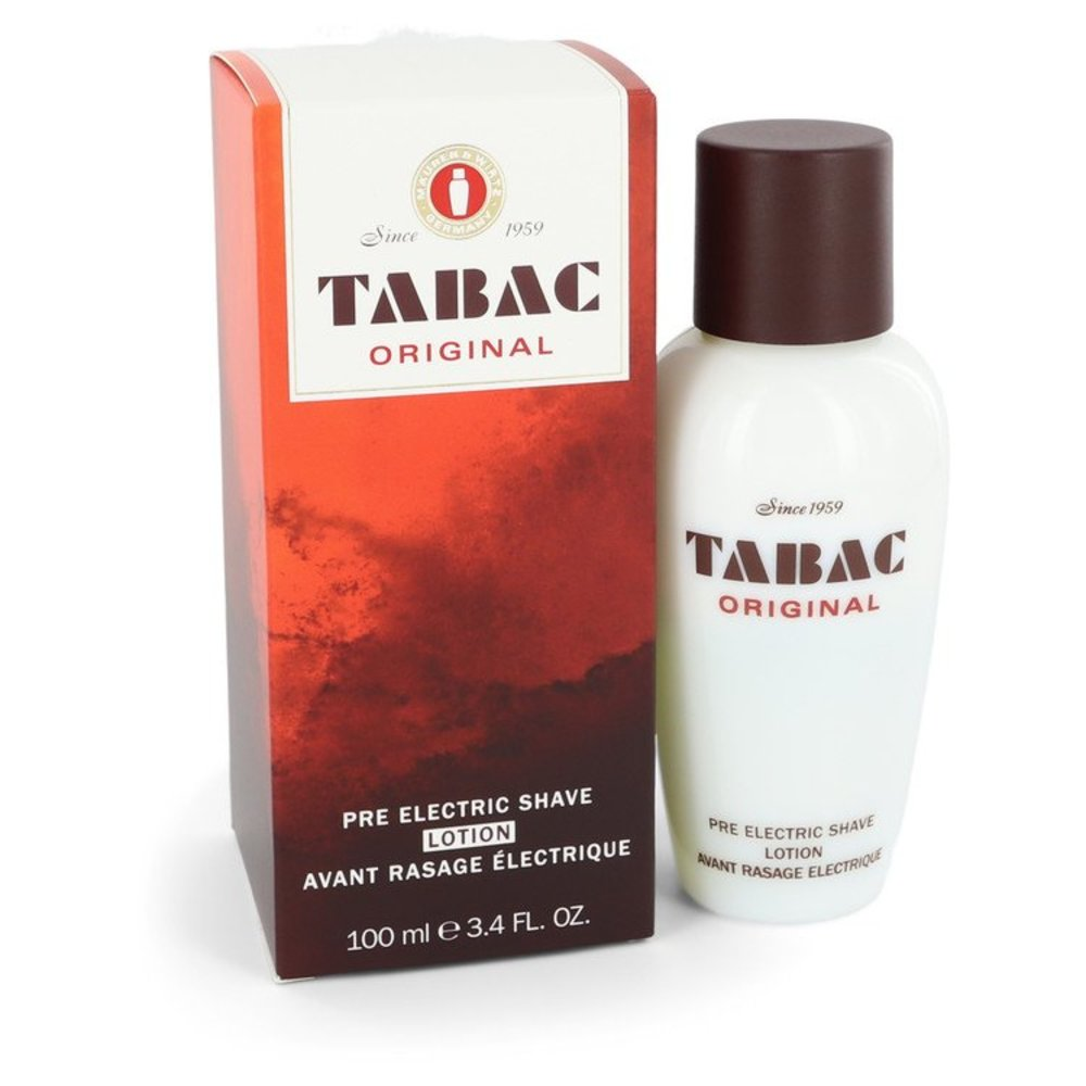 Tabac By Maurer and Wirtz Pre Electric Shave Lotion 3.4 Oz For Men