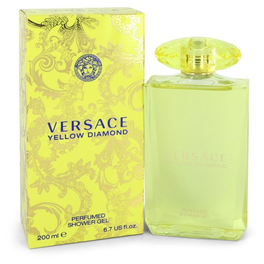 Versace Yellow Diamond By Versace Shower Gel 6.7 Oz For Women