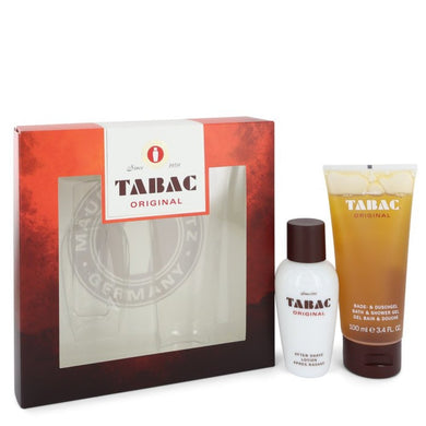 Tabac By Maurer and Wirtz Gift Set -- 1.7 Oz After Shave Lotion + 3.4 Oz Shower Gel For Men