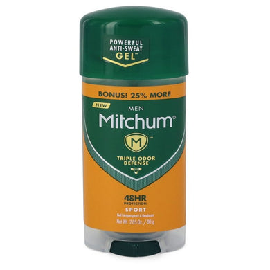 Mitchum Sport Anti-perspirant and Deodorant Gel By Mitchum Sport Anti-perspirant and Deodorant Gel 48 Hour Protection 2.82 Oz For Men