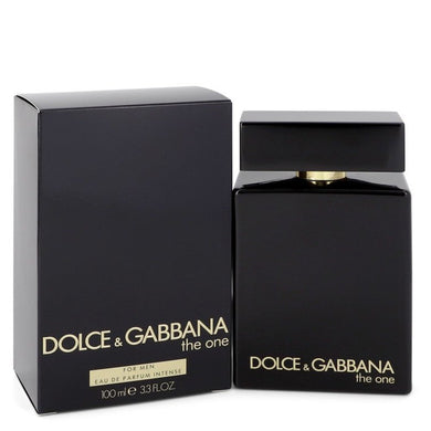 The One Intense By Dolce and Gabbana Eau De Parfum Spray 3.3 Oz For Men