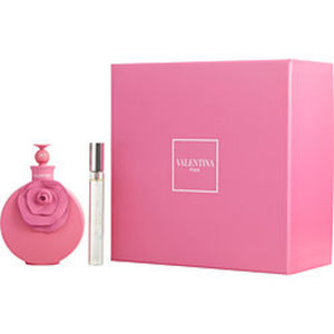 Valentino Valentina Pink Eau De Parfum Spray 2.7 Oz and Eau De Parfum Spray .34 Oz For Women