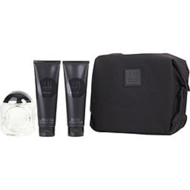 Dunhill London Century Eau De Parfum Spray 4.5 Oz and Aftershave Balm 3 Oz and Shower Gel 3 Oz and Bag For Men