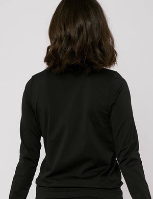 SilverTech Active Long-Sleeve Tee, Black
