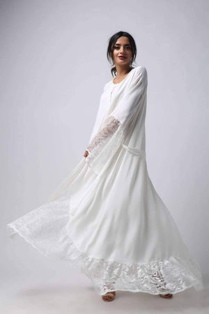 Robe Set - Off White Soft Touch - Ecru