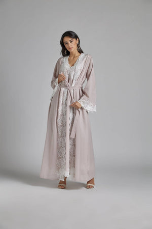 Load image into Gallery viewer, Cotton Vual Powder Robe Set - Reina