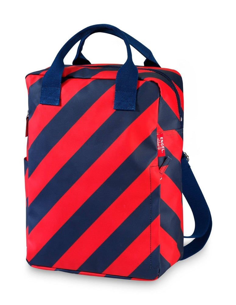 Load image into Gallery viewer, Backpack large 'Stripe Navy'