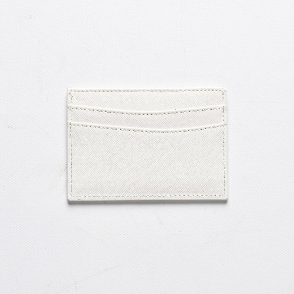 Load image into Gallery viewer, Saffiano Cardholder in White