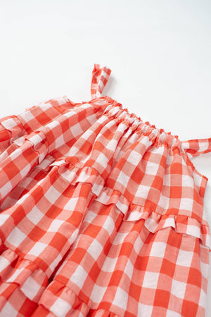 Load image into Gallery viewer, Red Sidra Dress