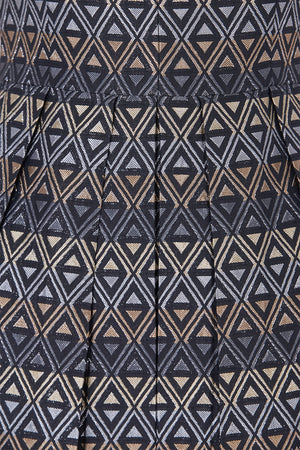 Diamond Pattern Dress