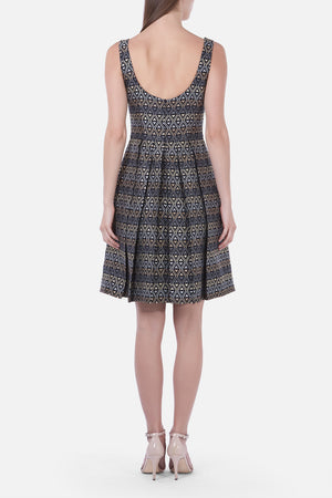 Load image into Gallery viewer, Diamond Pattern Dress