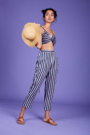 Load image into Gallery viewer, SE Striped Pants SS Lavender