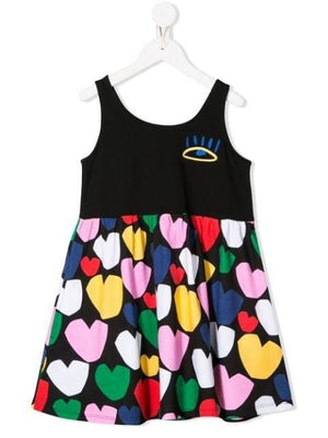 Multicolor Hearts SMC Dress