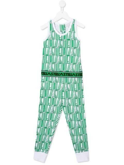 Load image into Gallery viewer, Green Stella Type SMC Jumpsuit