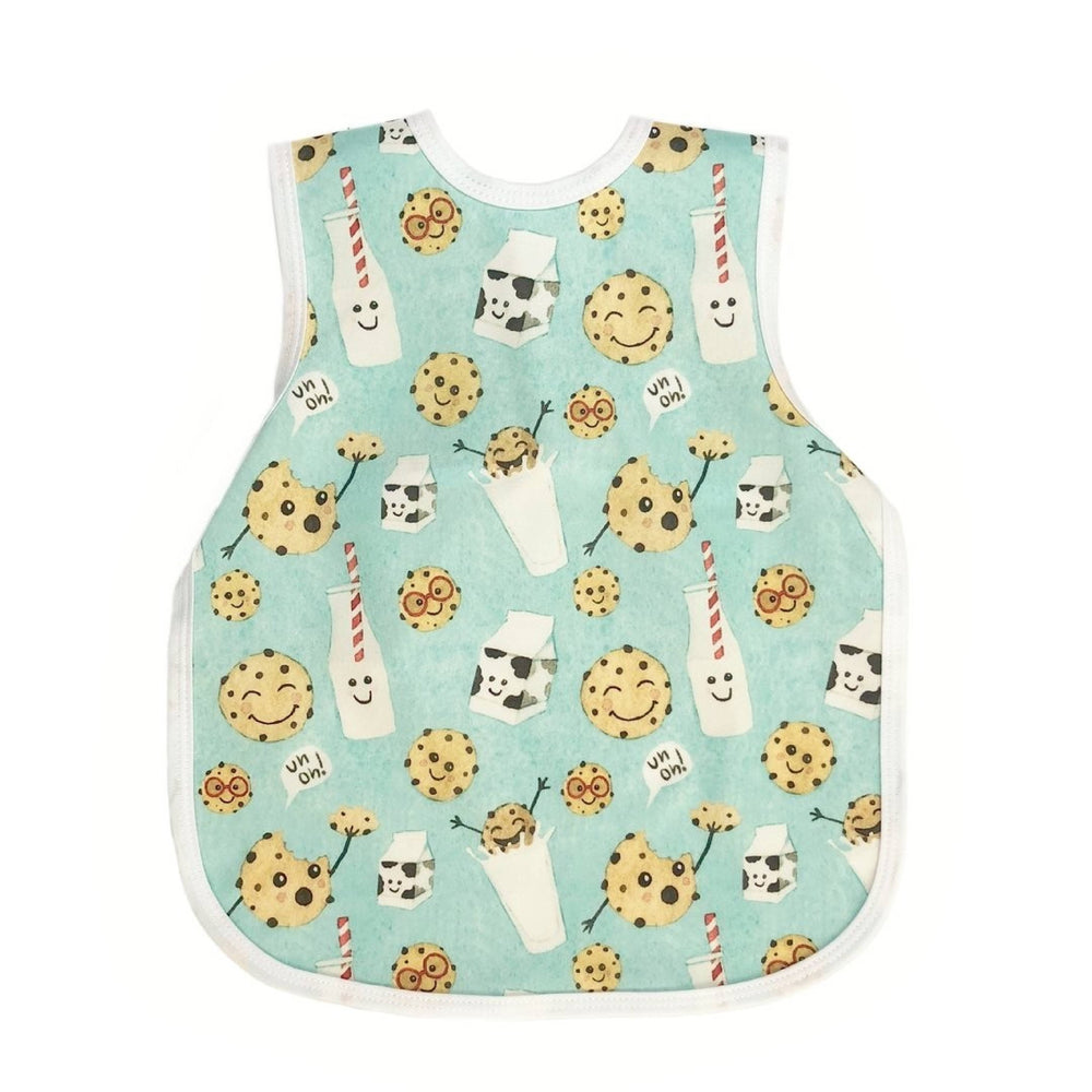 Milk & Cookies Toddler Bapron for 6m-3T