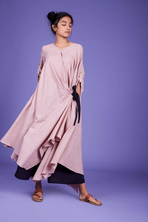 Load image into Gallery viewer, Tara Aakaar Dress SS pink