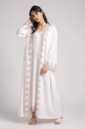 Robe Set - Off White Roja - Powder