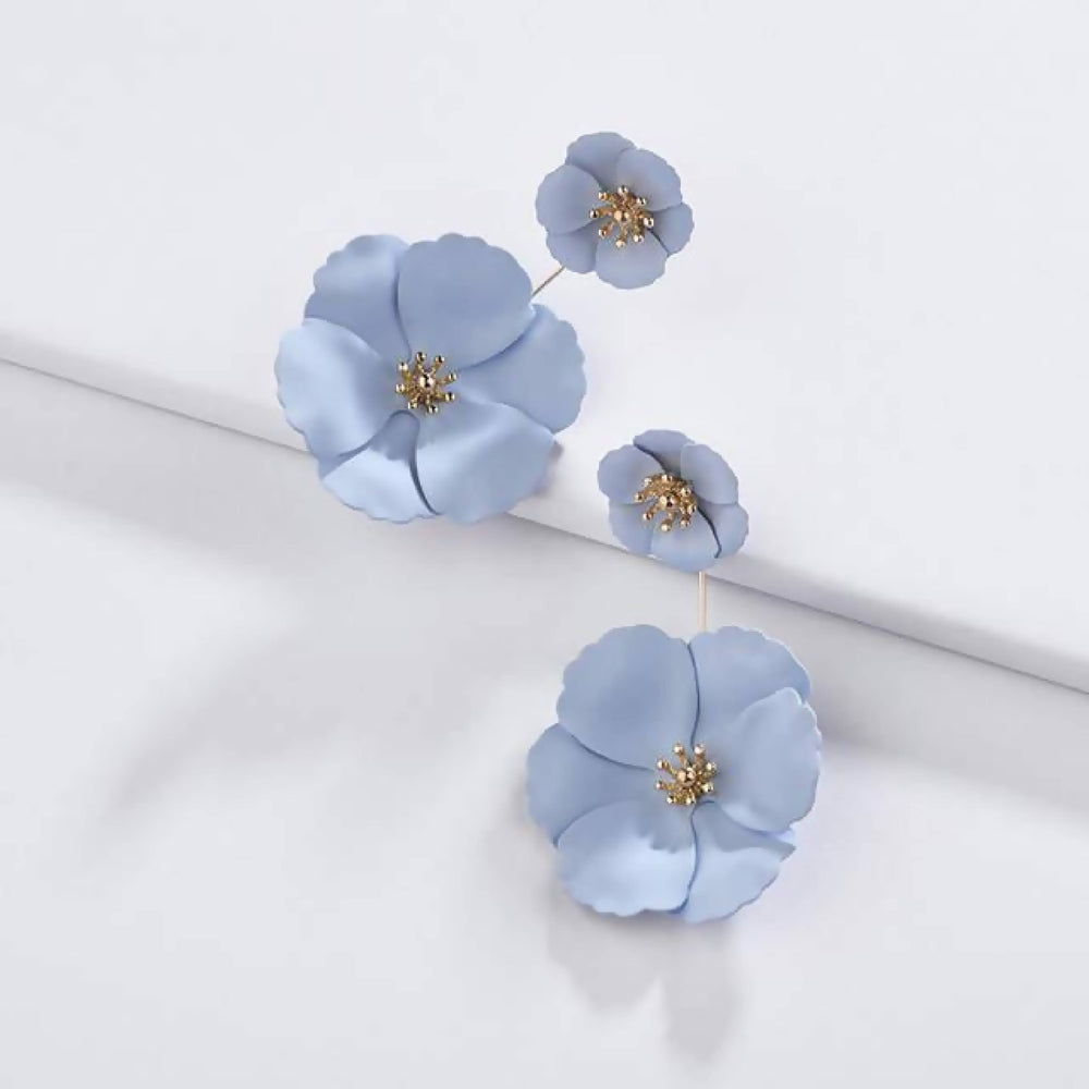 Load image into Gallery viewer, Detachable Flower Earrings