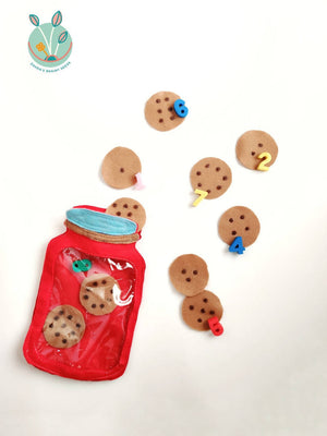 Busy Bag- Count the cookies