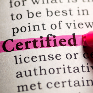 Why Is Certification So Important?