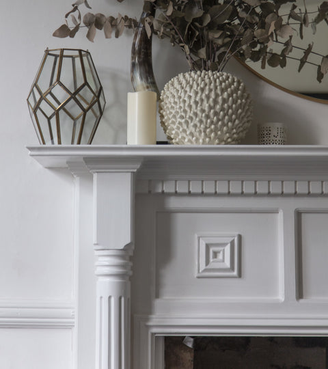 New Year Mantel Refresh