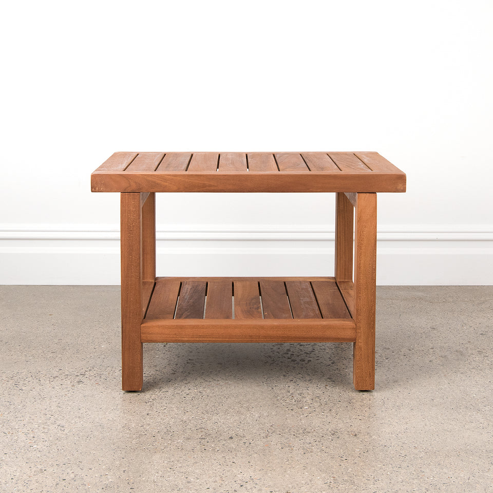 Teak Shower Table