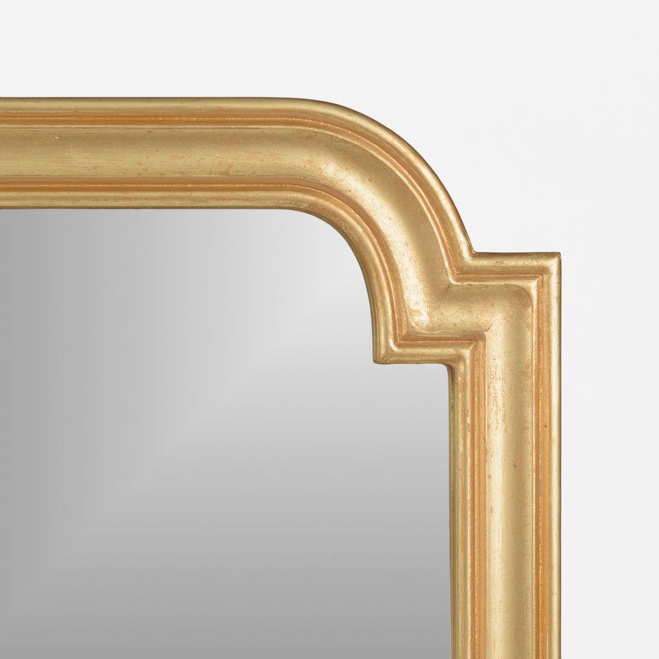 Square Notched Corner Mirror