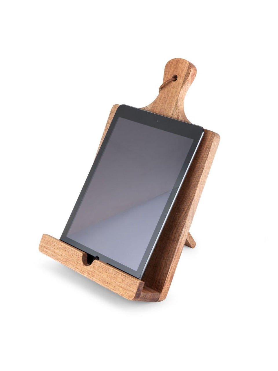 Acacia Wood Tablet Cooking Stand